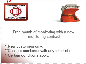 Free month of monitoring with a new monitoring contact.